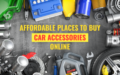 The Most Affordable Online Stores For Car Accessories