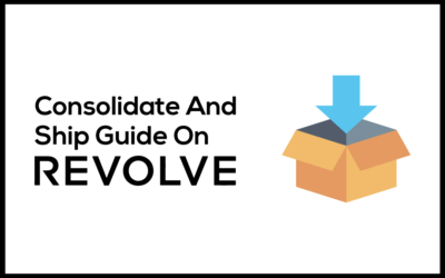 Consolidate And Ship Guide On Revolve
